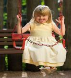 Ana Laura com o vestido Lione.